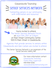 Senior Services Network Forum