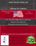 Lunch and Learn Services for Veterans