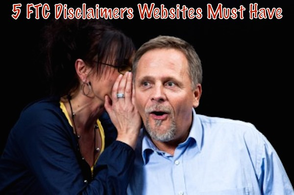 5 must have website disclaimers
