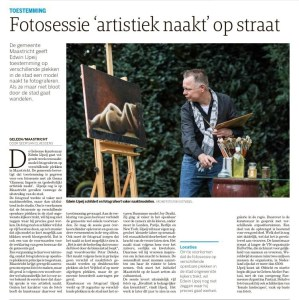 Pre-publication Sensual in the City Maastricht announcement