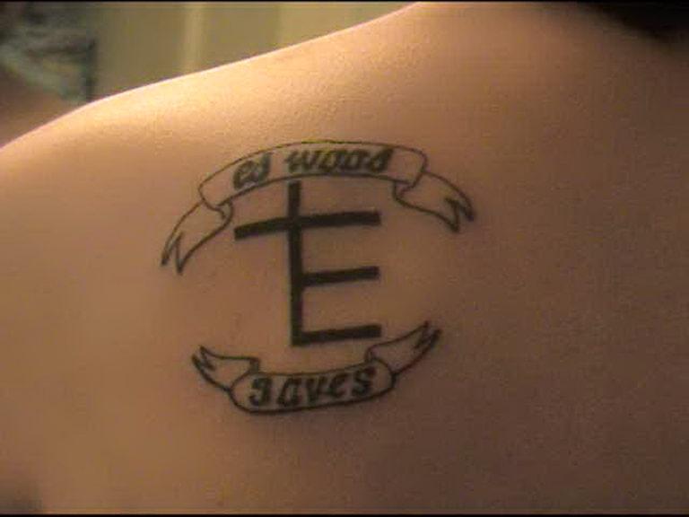I got a tattoo.
