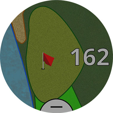 Garmin APPROACHS60W Approach S60 Golf Watch - White 4