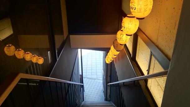 焼肉力丸階段