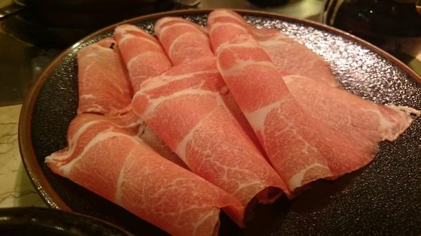 豚しゃぶランチ 豚肉