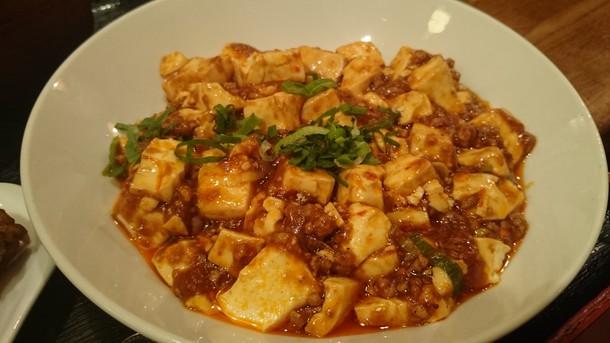 上海時間 マーボ豆腐