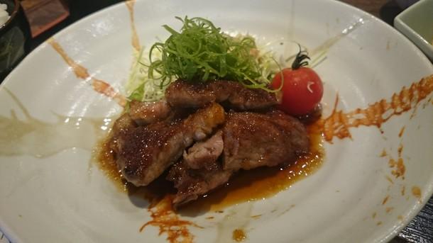 海空豚生姜焼き