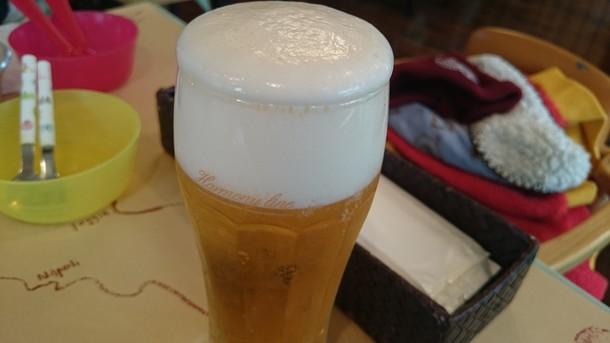 武蔵野食堂ビール