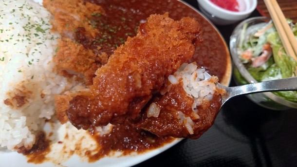 肉バル3丁目カレーとんかつは110円