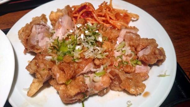 中華定食 油淋鶏