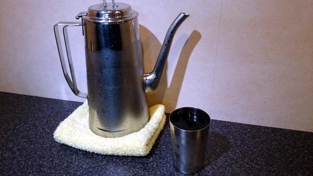 烈志笑魚油麺香房三く ウーロン茶