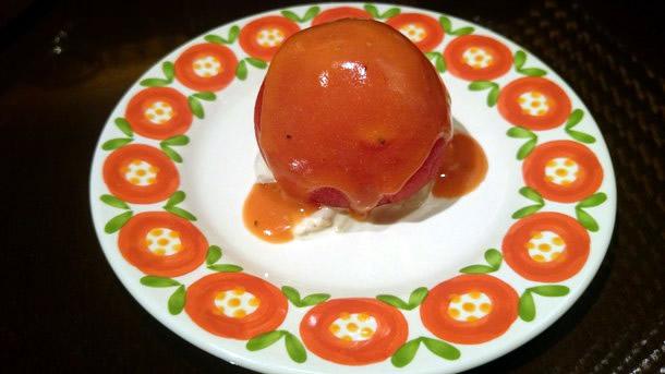 グリルキャピタル東洋亭トマトのサラダ