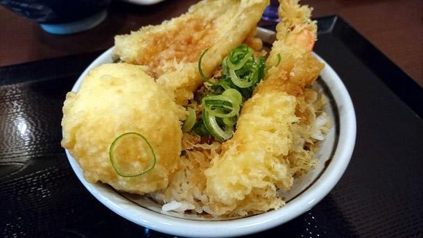 丸亀製麺天丼