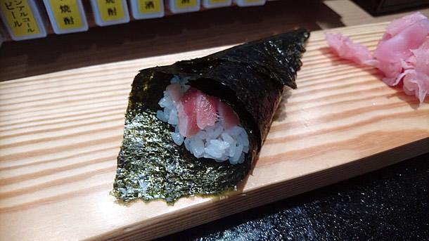単品の寿司