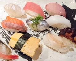 にぎり寿司定食「花」