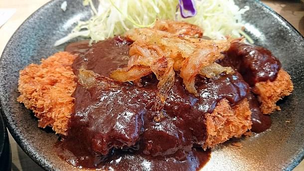 松乃家デミかつ定食