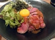 肉びすとろ熟の黒毛和牛のローストビーフ丼!梅田で満足ランチ