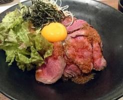 黒毛和牛のローストビーフ丼