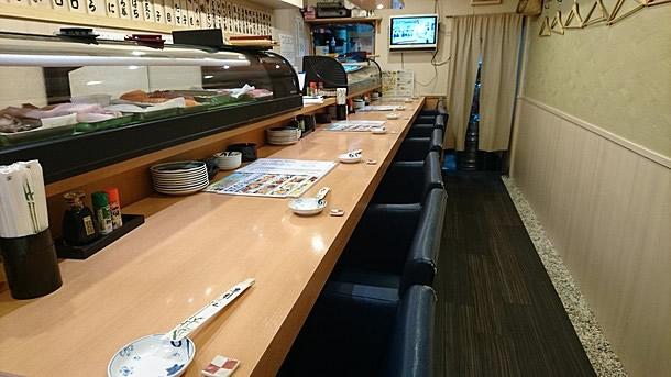 若狭寿司 店内