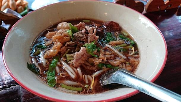 豚肉スープ