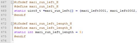 Bitmap header file