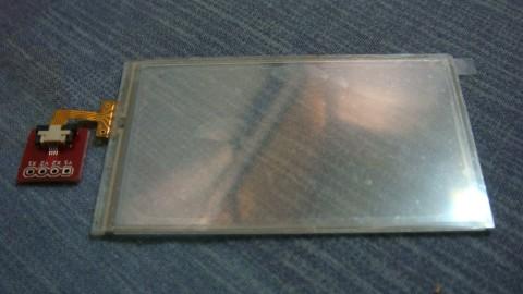 Sony Ericsson touchscreen