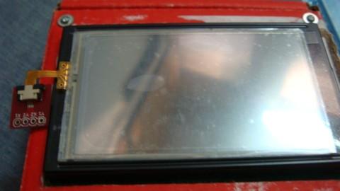 Touchscreen on GLCD