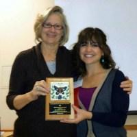 Dr. Elaine Hampton and Kathryn Venzor