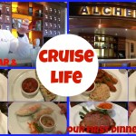CRUISE LIFE: Alchemy Bar & Our First Dinner – Carnival Dream