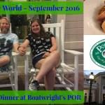 Episode 32: Dinner at Boatwright's Dining Hall at Port Orleans Riverside – Walt Disney World