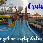 Cruise Tip: How To Enjoy an Empty Carnival WaterWorks!!!