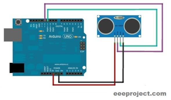 ARDUINO and Ultrasonic sensor