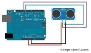 Distance measurement with arduino and ultrasonic sensor