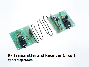 RF Transmitter and Receiver Circuit [Explained] in detail