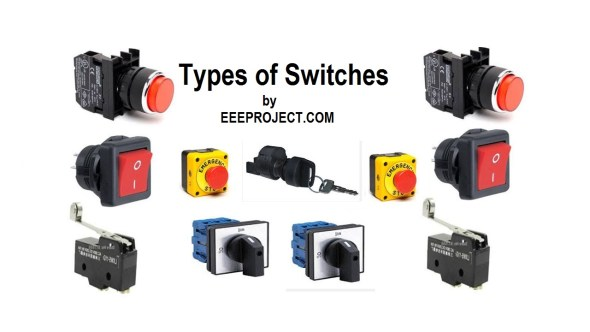 Types of Switches [Explained] in detail