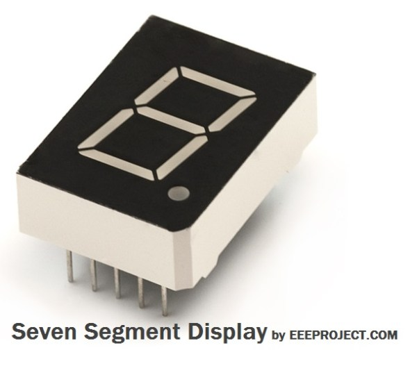 Seven Segment Display, working and application