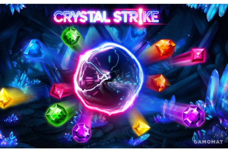 GAMOMAT on target with Crystal Strike