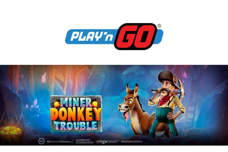 Play'n GO Release a Gem With Miner Donkey Trouble