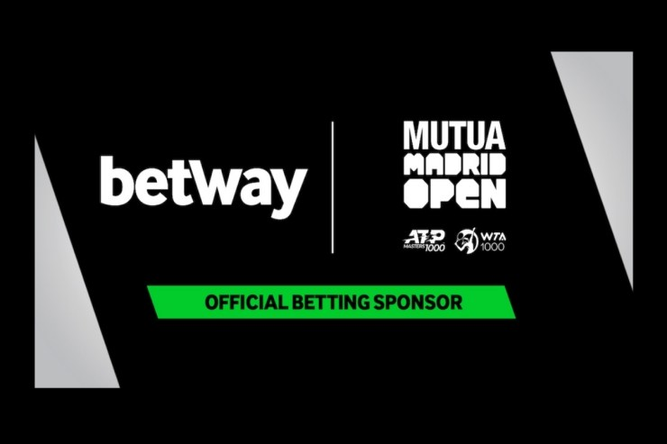 Betway announced as sponsor of the Madrid Open