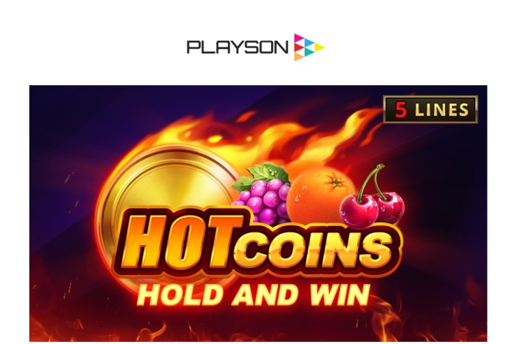 Playson turns up the temperature with Hot Coins: Hold and Win