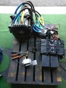 Sähkömoottori 72V