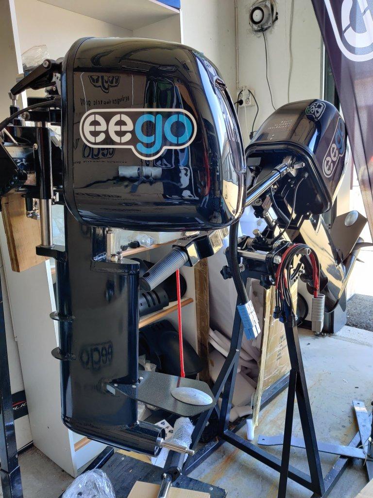 Sähköperämoottori 6500W 48V 7