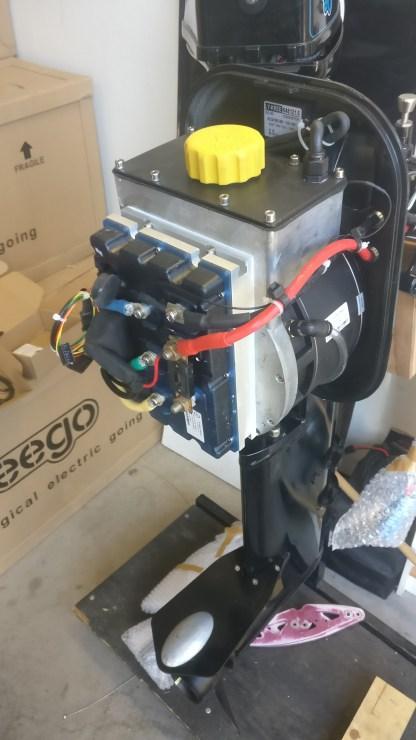 Sähköperämoottori 10000W 48V 2