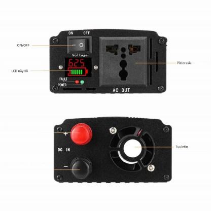 Invertteri 1500W 48V 1