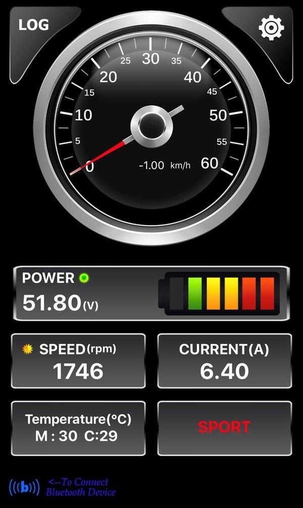 Sähköperämoottori 6500W 48V 3