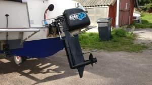 Sähkövene Bella 600 HT - muutosprojekti polttomoottorista sähkömoottoriksi 18