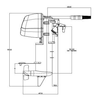 Sähkövene Bella 600 HT - muutosprojekti polttomoottorista sähkömoottoriksi 20