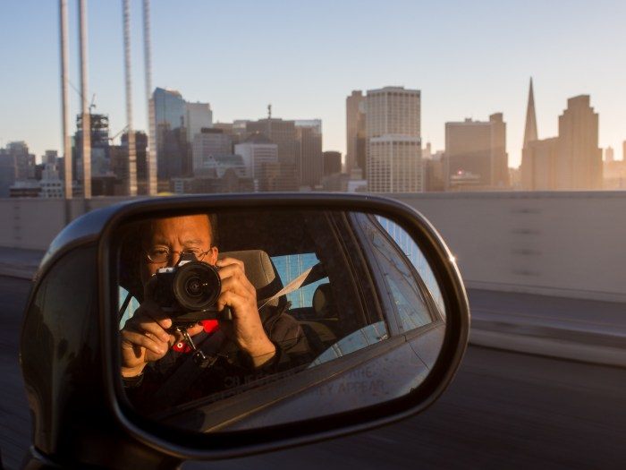Eugene Photographs San Francisco from the Bay Bridge