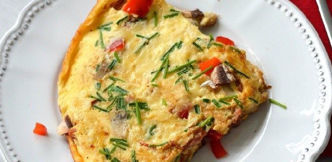 Gebak van Omelet