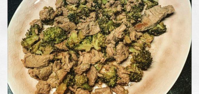 Biefstuk met broccoli