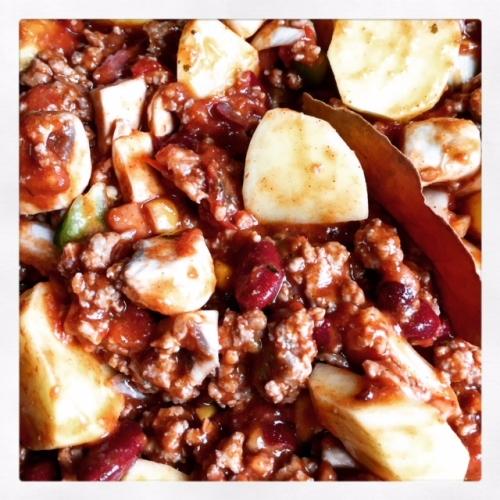 Chili con Carne met Aardappelen (SC)